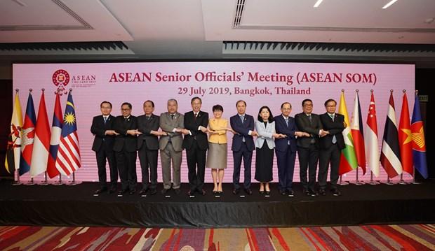Asiste Vietnam a evento preparatorio de reunion de cancilleres de ASEAN hinh anh 1