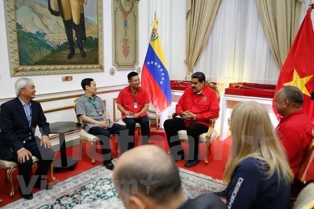 Asiste Partido Comunista de Vietnam al Foro de Sao Paulo en Venezuela hinh anh 1