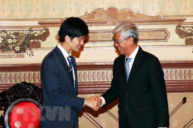 Promueve Vietnam la participacion de Japon en proyectos de transporte urbano y medio ambiente hinh anh 1