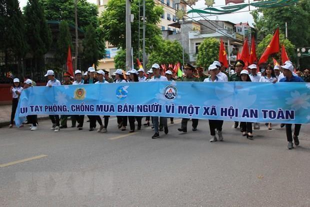 Realizan en Vietnam acto por el Dia Nacional contra la Trata de Personas de Vietnam hinh anh 1