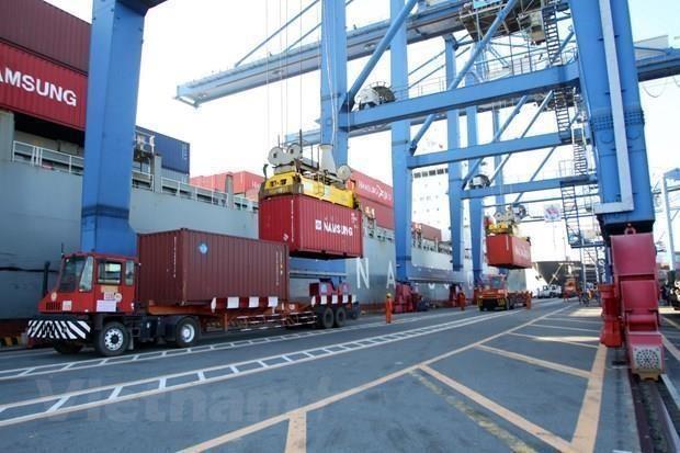 Registra Vietnam superavit comercial de 1,8 mil millones de dolares en los primeros siete meses de 2019 hinh anh 1