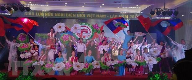 Robustecen nexos guardafronteras de Vietnam y Laos hinh anh 1