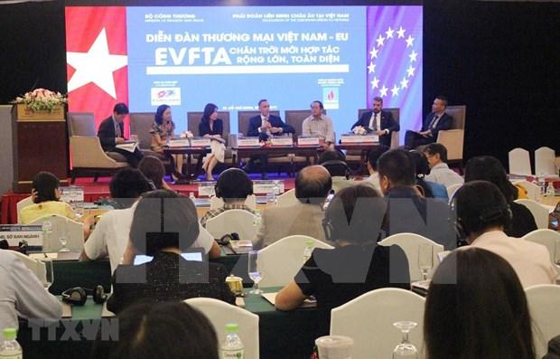 Impulsara nuevo TLC intercambio comercial entre la UE y Vietnam hinh anh 1