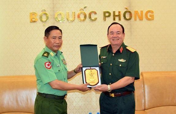 Buscan Vietnam y Myanmar impulsar lazos de defensa hinh anh 1
