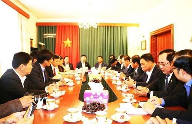 Busca ciudad vietnamita de Can Tho oportunidades de cooperacion en Republica Checa hinh anh 1