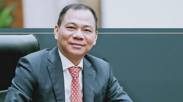 Incluyen a multimillonario vietnamita en la lista de las 200 personas mas ricas del mundo hinh anh 1