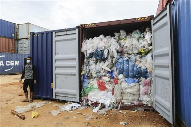 Devuelve Indonesia a Francia y Hong Kong desechos importados hinh anh 1