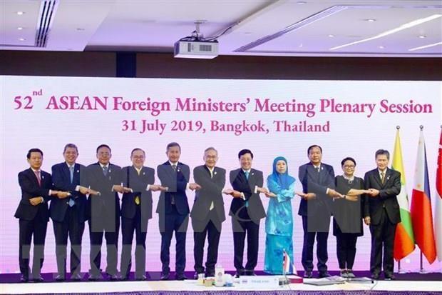 Inauguran en Tailandia la Reunion 52 de Cancilleres de la ASEAN hinh anh 1