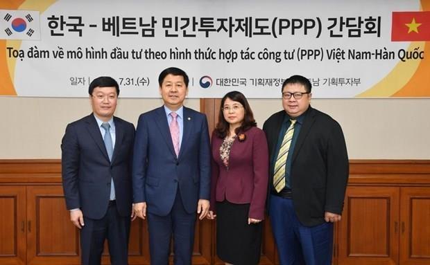 Comparten Corea del Sur y Vietnam experiencias en la estimulacion de capital privado hinh anh 1