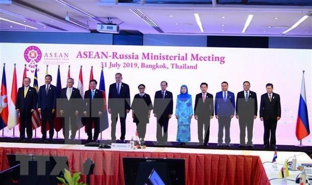 Fortalecen la ASEAN asociacion estrategica con Rusia y Nueva Zelanda hinh anh 1