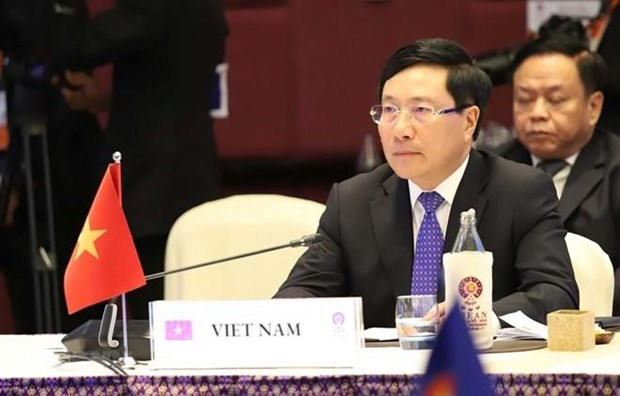 Participa Vietnam en la XII Reunion Ministerial de Mekong en Tailandia hinh anh 1