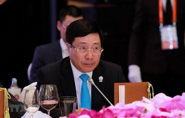 Paises riberenos de Mekong e India acuerdan nuevos sectores de cooperacion hinh anh 1
