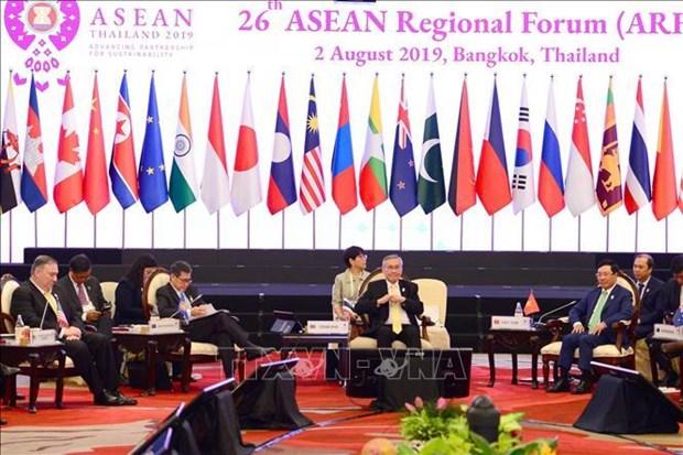 Inauguran en Tailandia el XXVI Foro Regional de la ASEAN hinh anh 1
