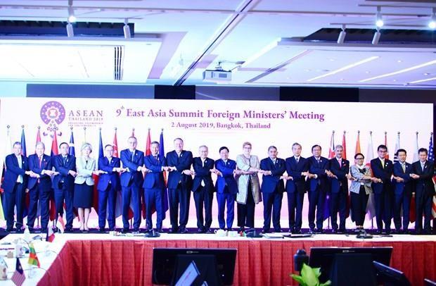 Sesiona IX Reunion de Cancilleres de Asia Oriental en Bangkok hinh anh 1