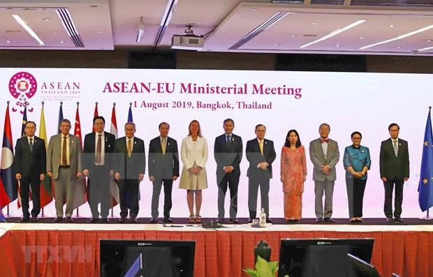 Emiten la ASEAN y la UE declaracion conjunta sobre cooperacion en ciberseguridad hinh anh 1