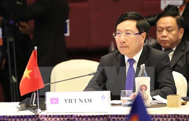 Concede la ASEAN importancia a fortalecer cooperacion efectiva con sus socios hinh anh 1