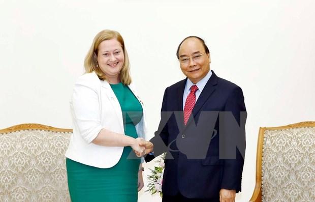 Aboga premier de Vietnam por impulso de intercambio comercial con Irlanda hinh anh 1