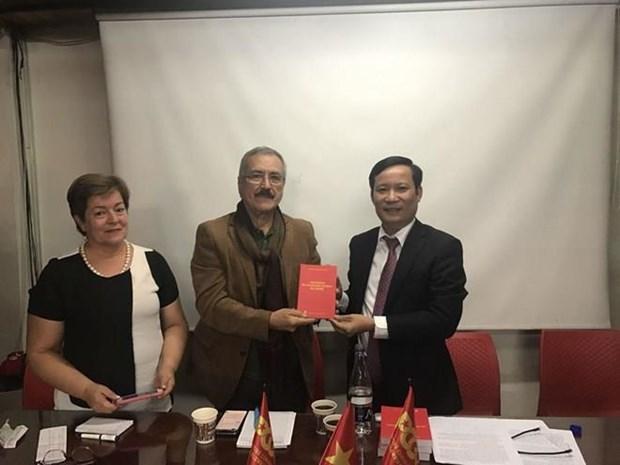 Partidos comunistas de Vietnam y Colombia impulsan cooperacion hinh anh 1