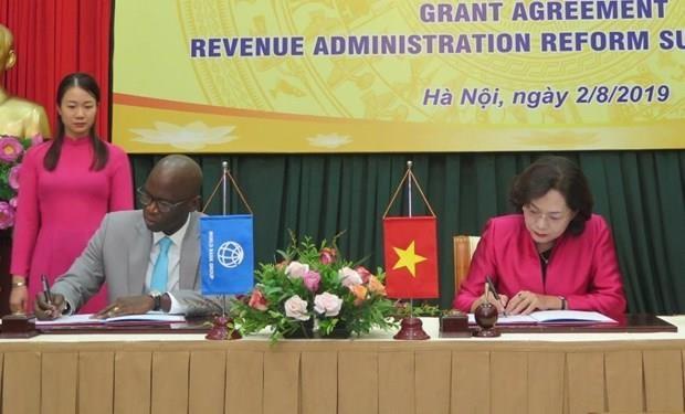 Ayudan Banco Mundial y Japon a Vietnam en gestion tributaria hinh anh 1