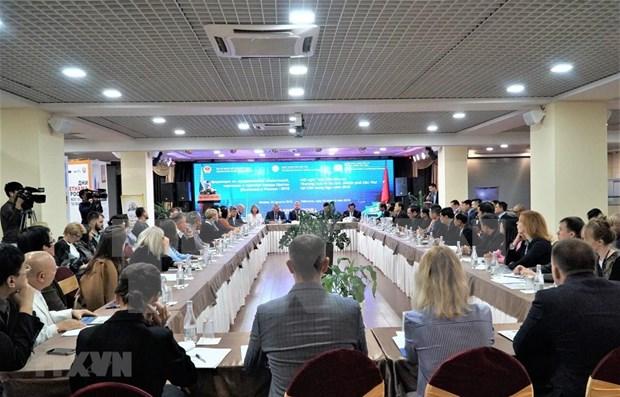 Promueve ciudad vietnamita de Can Tho comercio e inversion en Rusia hinh anh 1