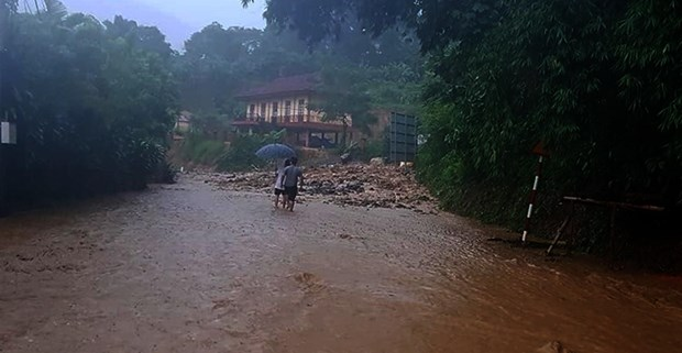 Azota tifon Wipha region nortena de Vietnam hinh anh 1