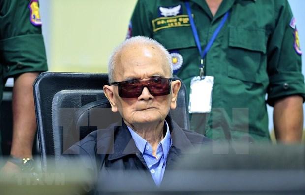 Muere Nuon Chea, numero dos de regimen de Khmer Rojo hinh anh 1