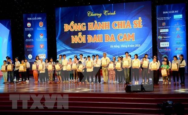 Desarrollan en ciudad vietnamita actividad a favor de victimas del Agente Naranja hinh anh 1