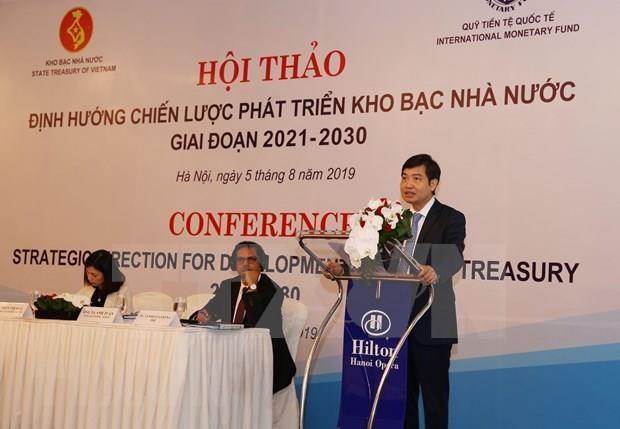 Comparte FMI experiencias para desarrollo del Tesoro Estatal de Vietnam hinh anh 1