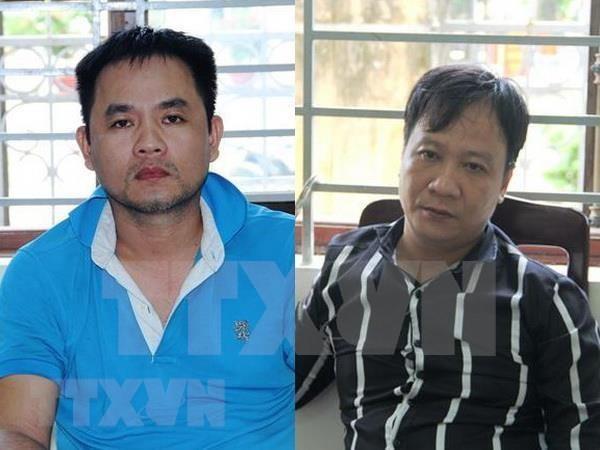 Capturan en Vietnam dos narcotraficantes que transportaban drogas desde Camboya hinh anh 1