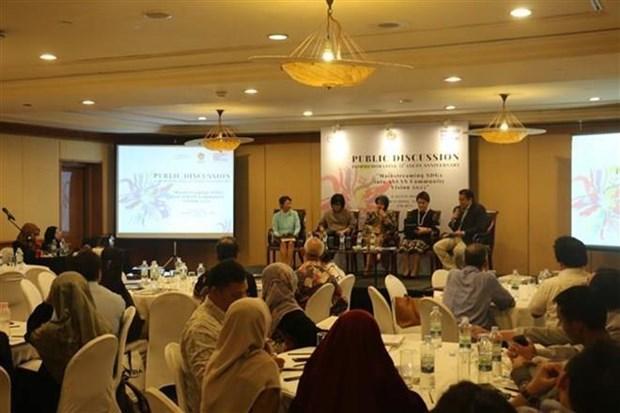 Destacan esfuerzos de ASEAN para alcanzar Objetivos del Milenio hinh anh 1
