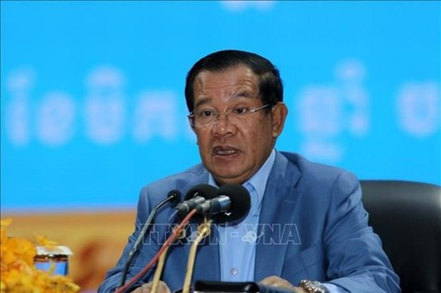 Llama primer ministro camboyano a reforzar lucha antiterrorista hinh anh 1