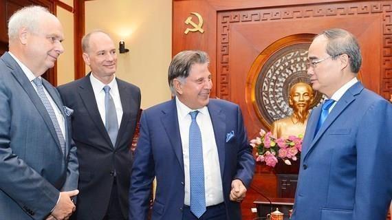 Propone corporacion alemana TTI inversion millonaria en Vietnam hinh anh 1