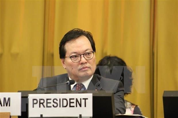 Respalda Vietnam esfuerzos internacionales para eliminar las armas nucleares hinh anh 1