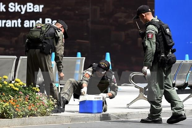 Buscan en Tailandia presuntos autores de recientes atentados con bombas en Bangkok hinh anh 1