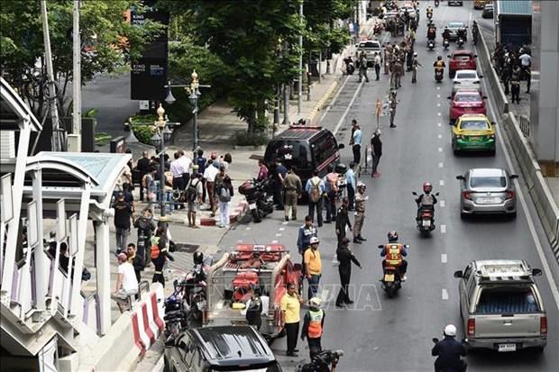 Identifica policia tailandesa a presuntos autores de atentados con bombas en Bangkok hinh anh 1