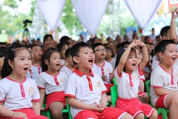 Continuaran en Hanoi programa de leche escolar en ano academico 2019-2020 hinh anh 1