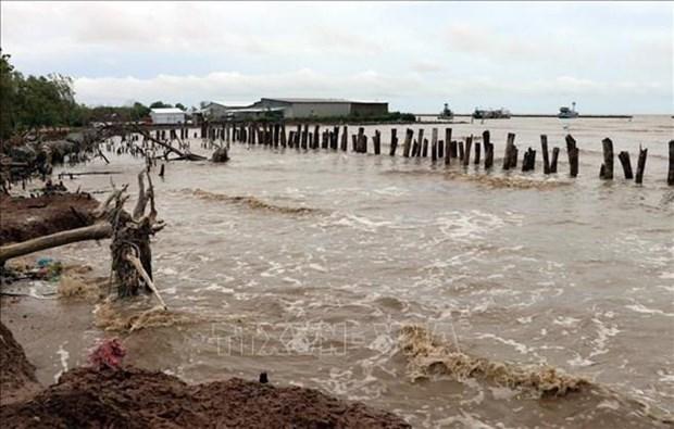Fuertes lluvias en provincia surena vietnamita causan danos millonarios hinh anh 1