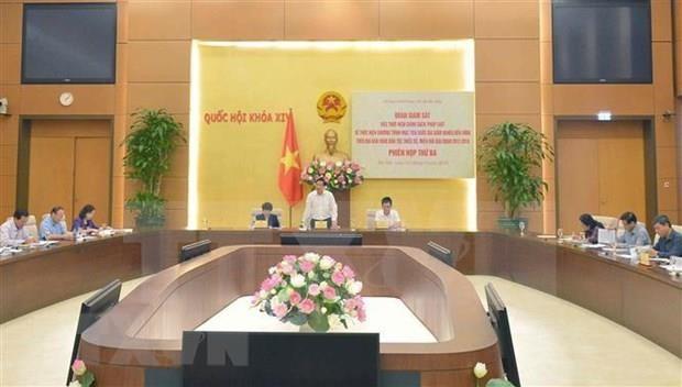 Anuncian programa de supervision del Parlamento de Vietnam en 2020 hinh anh 1