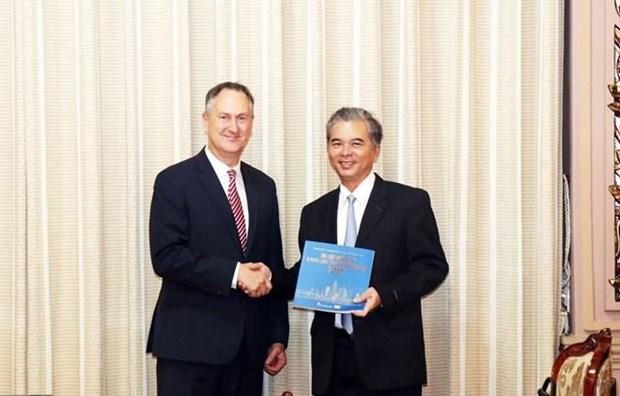 Proyectan Ciudad Ho Chi Minh ampliar cooperacion con grupo VISA hinh anh 1