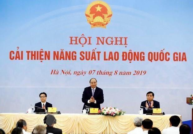 Propone primer ministro vietnamita tareas para elevar la productividad nacional hinh anh 1
