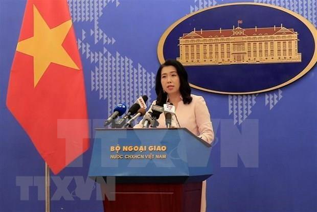 Reitera Vietnam voluntad de dialogar sobre el Mar del Este con paises relacionados hinh anh 1
