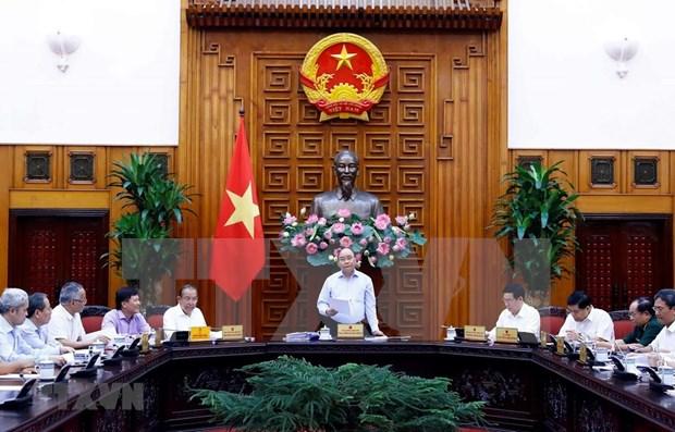 Preside primer ministro vietnamita sesion del Subcomite de Economia Social hinh anh 1