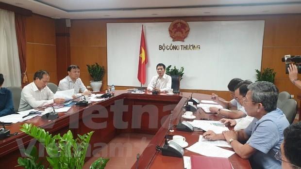 Debaten en Hanoi medidas de estimulo al crecimiento de exportaciones de Vietnam hinh anh 1