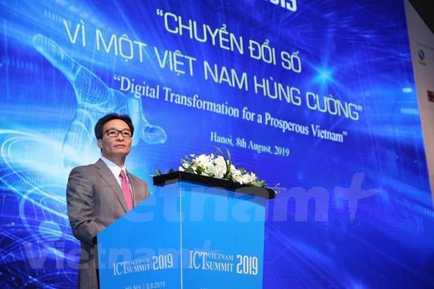 Vicepremier vietnamita insta a pensar fuera de la caja para acelerar la transformacion digital hinh anh 1