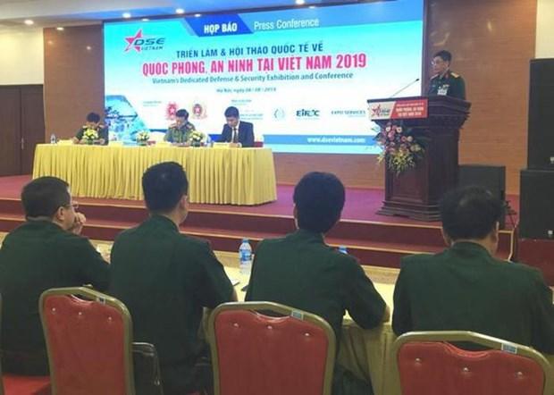 Exposicion de Seguridad Vietnam 2019: ocasion para elevar capacidad combativa hinh anh 1