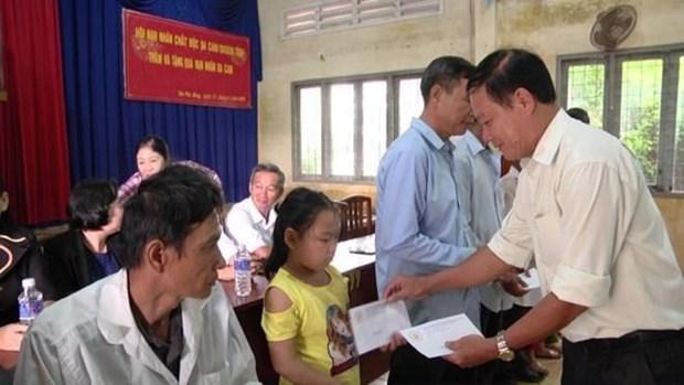 Provincia vietnamita se empena en mejorar vida de victimas del Agente Naranja hinh anh 1