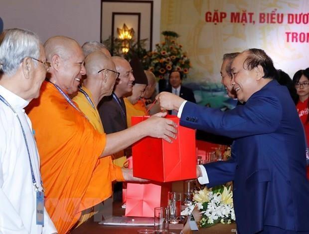 Reafirma primer ministro vietnamita garantias para la libertad religiosa hinh anh 1
