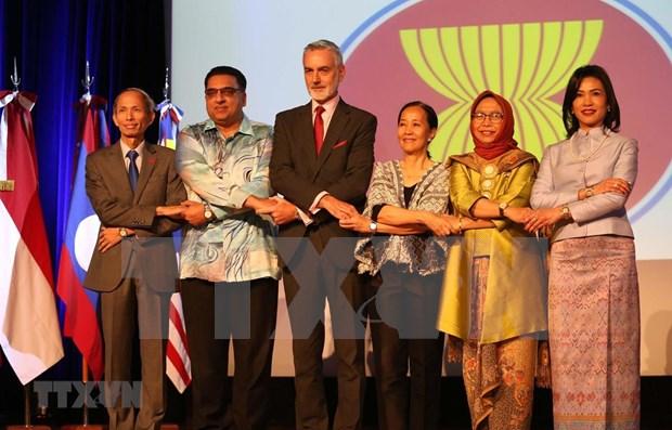 Celebran aniversario 52 de fundacion de la ASEAN en Argentina y Chile hinh anh 1