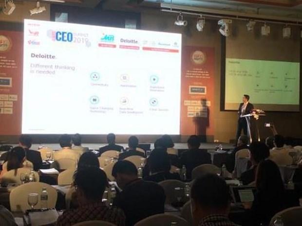 Celebran la Cumbre de CEO Vietnam 2019 hinh anh 1