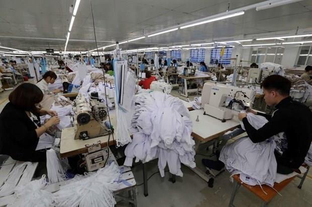 Crecen 10,5 por ciento exportaciones de confecciones textiles de Vietnam hinh anh 1